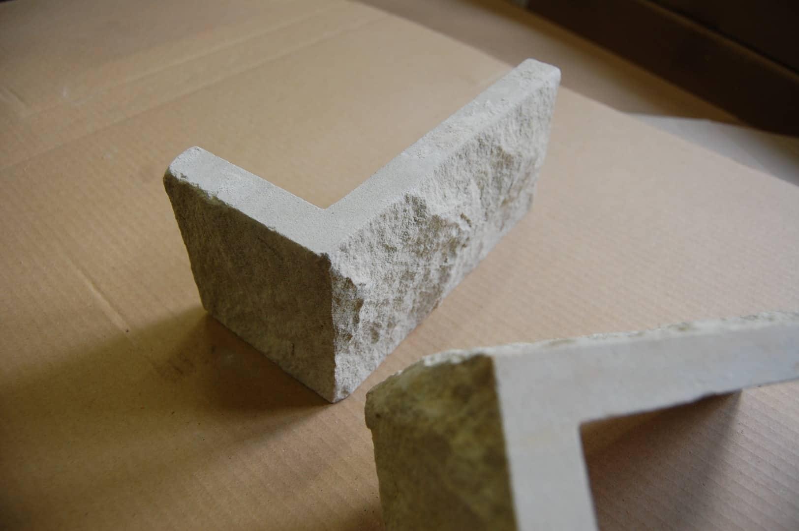 Eckelemente DORA Verblender Riemchen Klinker Sandstein Naturstein Fassadenverkleidung