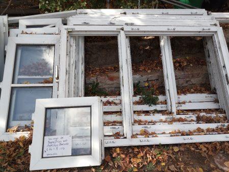 Kunststofffenster mit Oberlicht