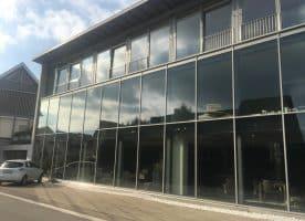 Glas / Stahlfassade