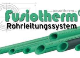 Fusiotherm Kunststoffrohr