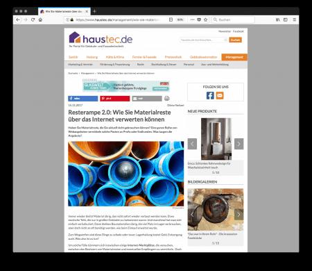 Resterampe 2.0: Wie Sie Materialreste über das Internet verwerten können