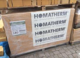 Homatherm Holzfaserdämmplatte Energie Plus massive 140