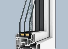 Neues, komplettes Set ( Fenster – mit tlw Aufsatzrolläden – und Terrassentüren)