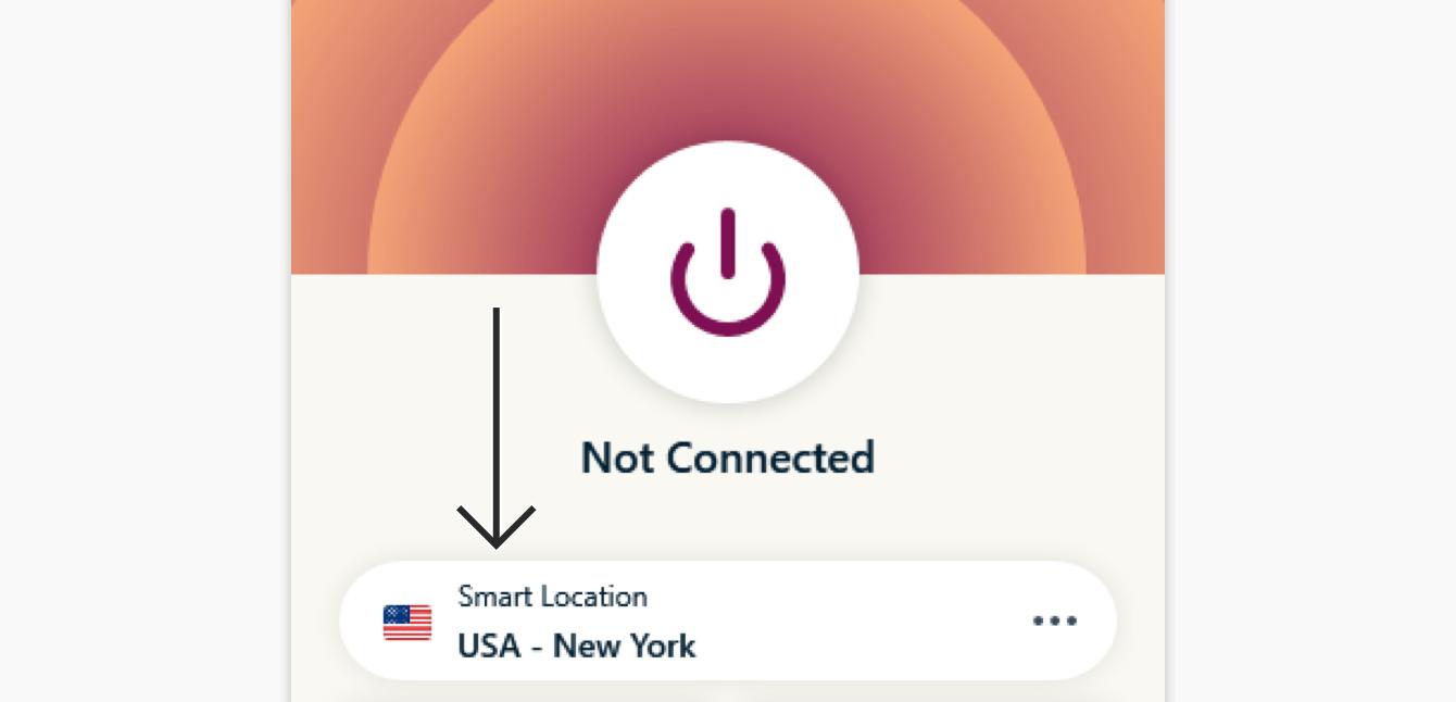 Click the Smart Location.