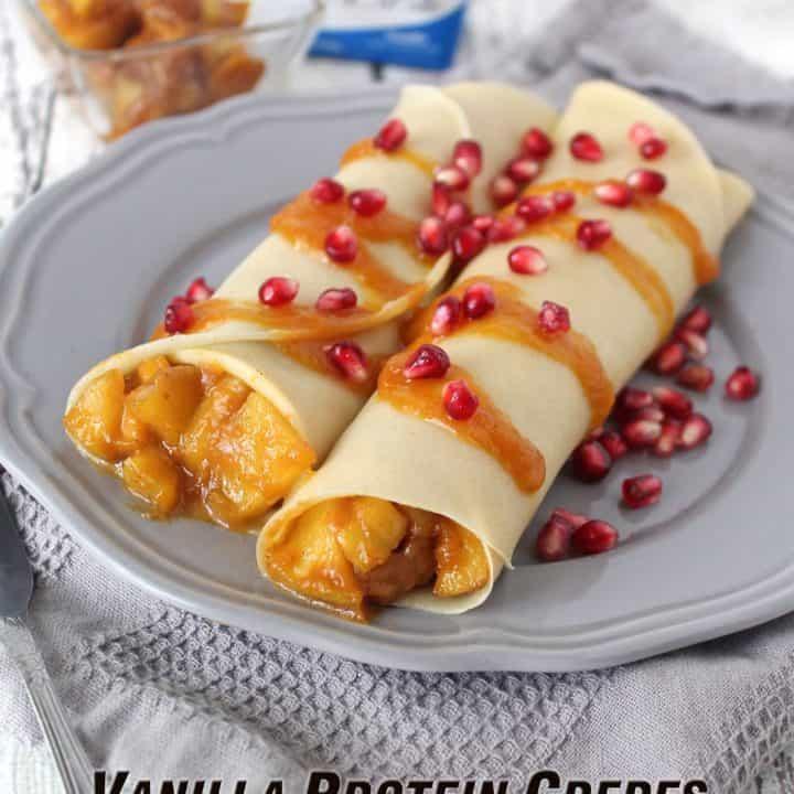 Vanilla Protein Crepes