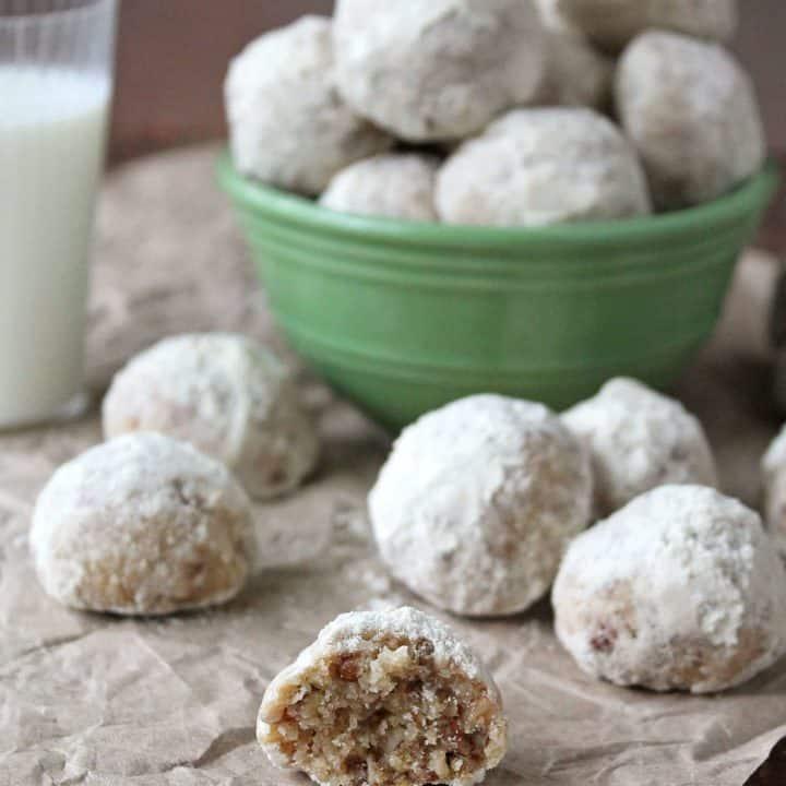 Gluten Free Flour Blend Gluten Free Snowball Cookies