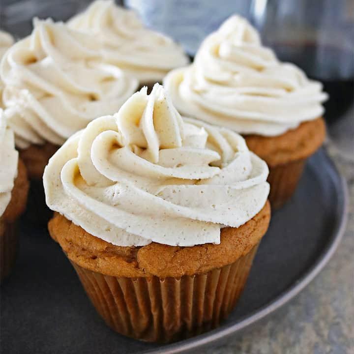 Ginger Sweet Potato Cupcakes Recipe
