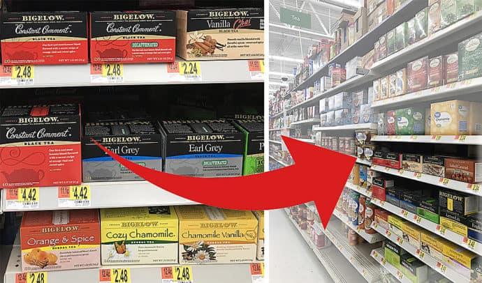 Bigelow at Walmart Image