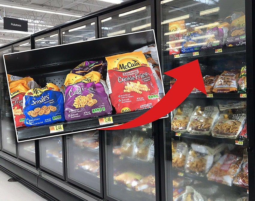 McCain Products At Walmart