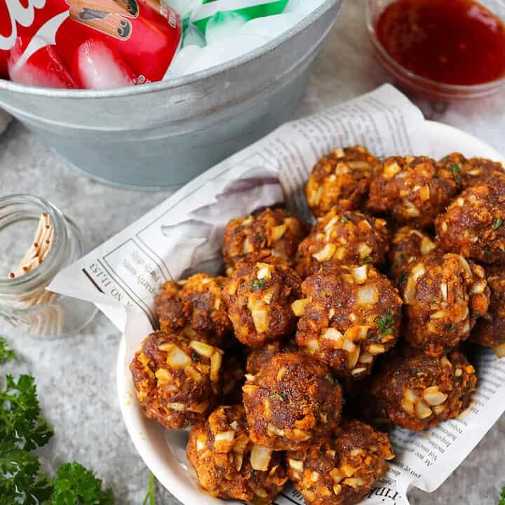 Spicy Chorizo Balls