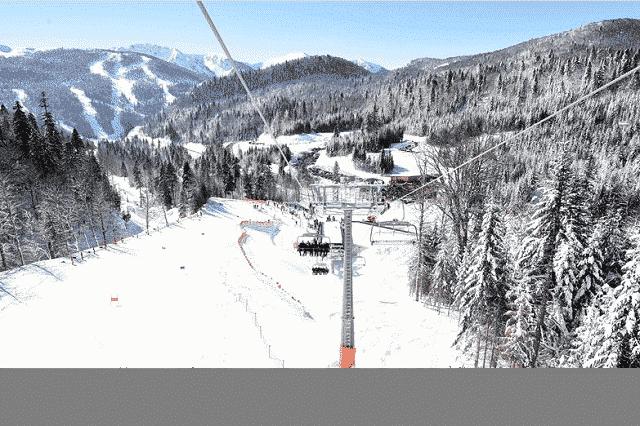 kolašin 1600 ski centar kolasin