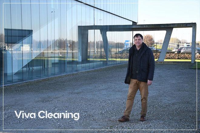 ontwerp responsive website met WordPress CMS voor Viva Cleaning uit Roeselare