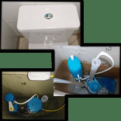 Cambio de accesorio de Inodoro