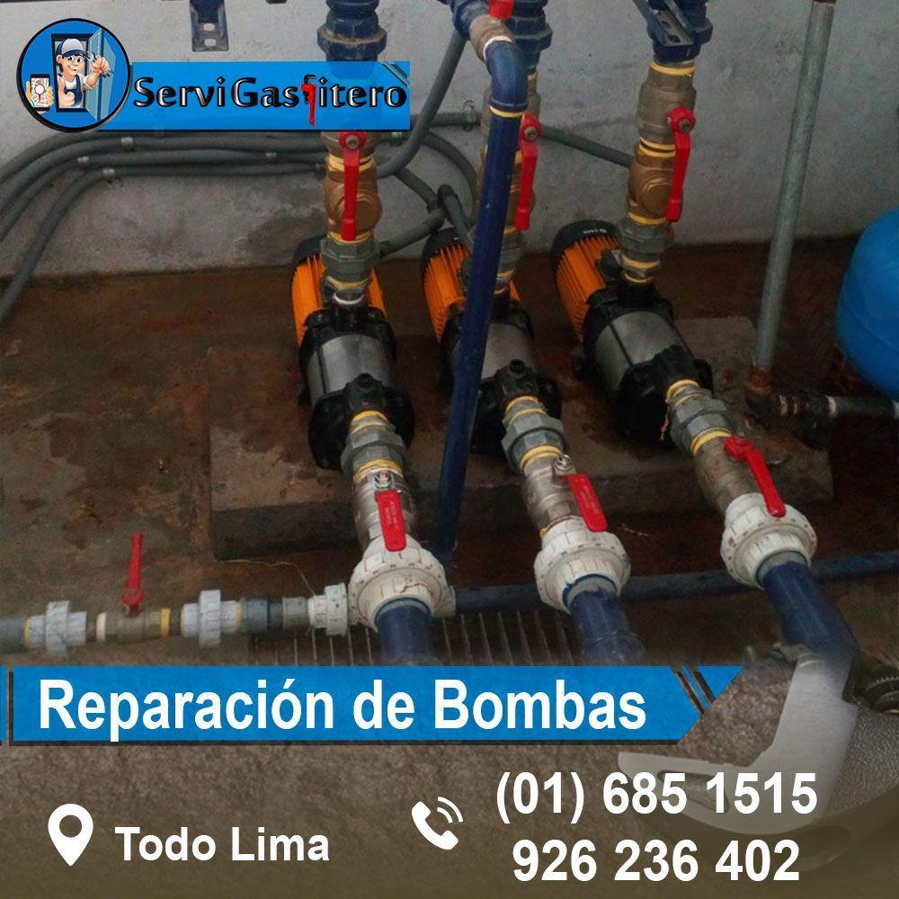 técnico de Bombas de agua