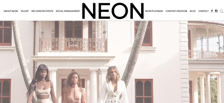 Neon Model Management