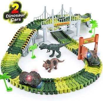 7. Toyk Dinosaur Toys, 156 pcs create A Dinosaur