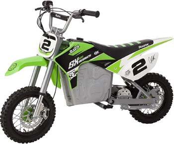 10. Razor Dirt Rocket SX500 McGrath Electric Motocross Bike