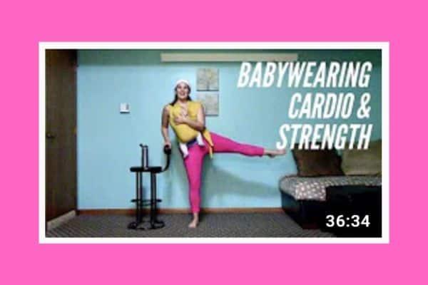 Babywearing cardio & strength workout
