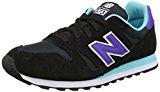 New Balance Women's Wl373 Lifestyle Low-Top Sneakers, Black