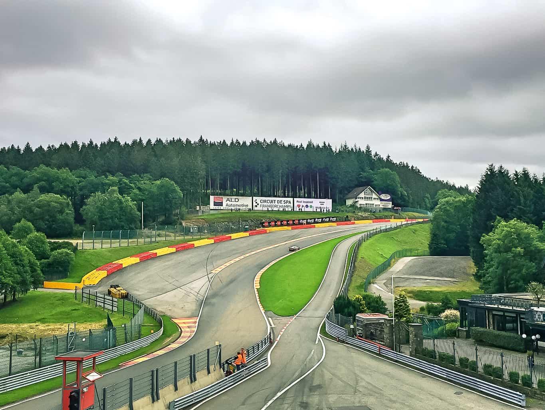 Test day pour les 24H de Spa-Francorchamps, espace aménagé par So Event