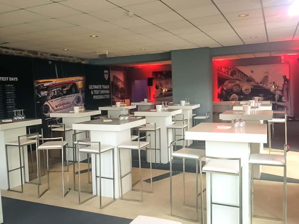 Aménagement de l'espace VIP des 24H de Spa Francorchamps par So Event