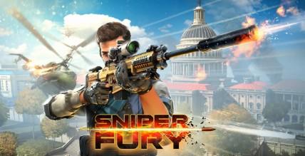 تنزيل لعبة Sniper Fury كاملة للأندرويد