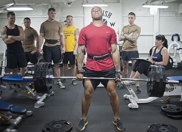 Gewicht steigern Muskelaufbau