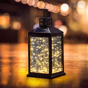 10: SUNWIND Solar Lantern Lights Outdoor SUNWIND Waterproof Solar Table Lamp