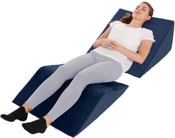 4. Allsett Health Bed Wedge Pillow