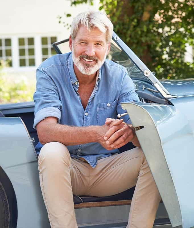 Classic car owner
