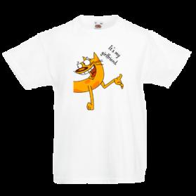 Печать на футболке Кот, Печать на футболках, чашках, кепках. Индивидуальный дизайн