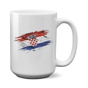 Печать на чашке Флаг Хорватия, Печать на футболках, чашках, кепках. Индивидуальный дизайн