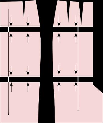 Schnittmuster-Rock-änderung-kürzen