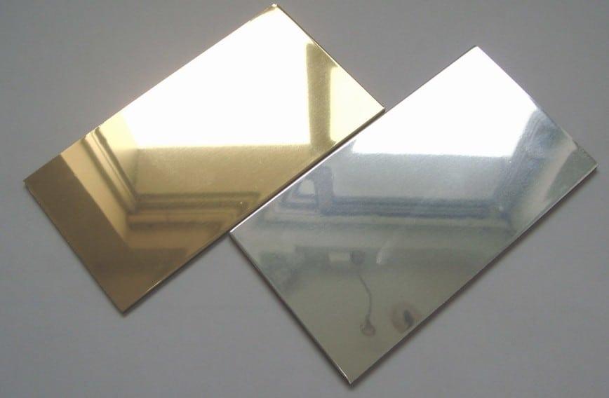 зеркальный листовой полистирол