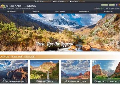 Wildland Trekking / Website Design / SEO / WordPress Support