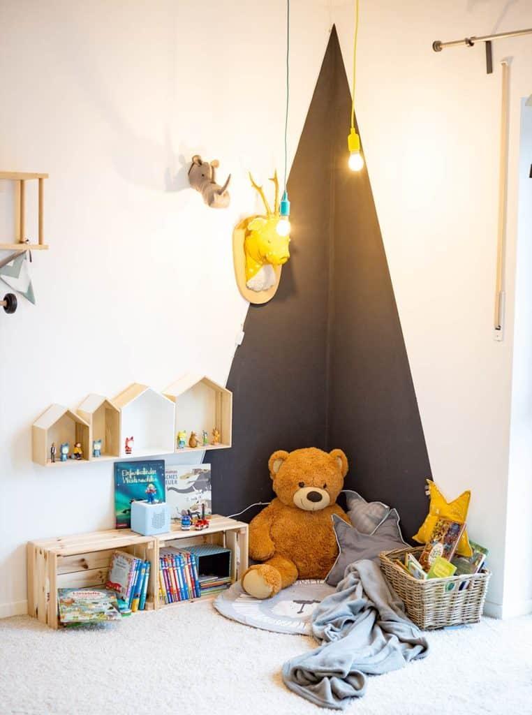 Unsere Leseecke im Kinderzimmer