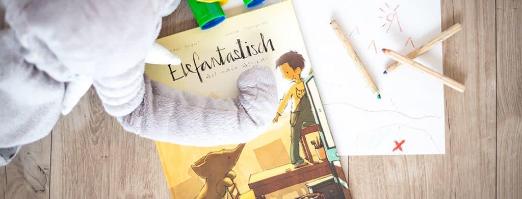 Kinderbuchvorstellung - Elefantastisch! Auf nach Afrika
