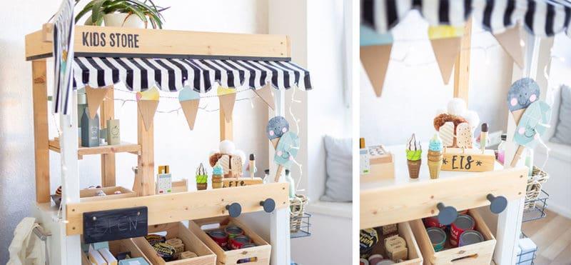 Verwandel deinen Kaufladen in einen DIY Eisstand