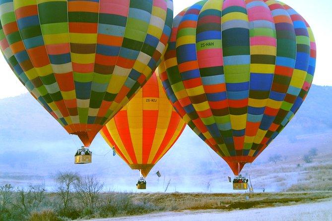 Early Morning Balloon Safari with Breakfast from Magaliesburg
