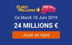 jouer à Euromillions ce mardi 18 juin 2019