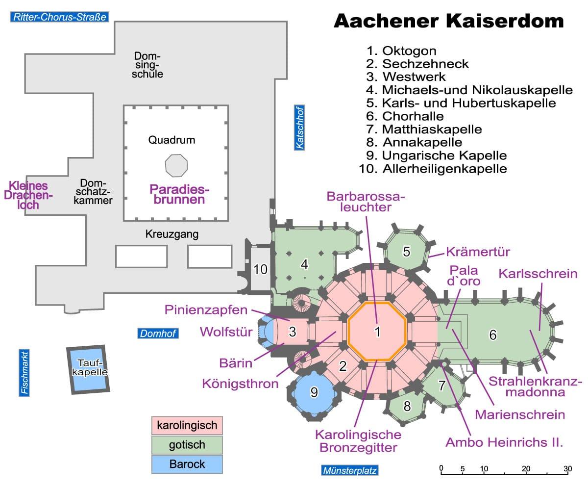 plan_katedry_w_Aachen