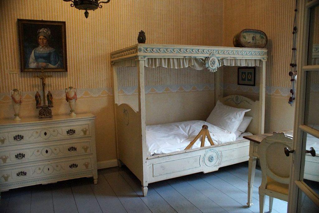 Schlafzimmer Jagdschloss Burg Linn