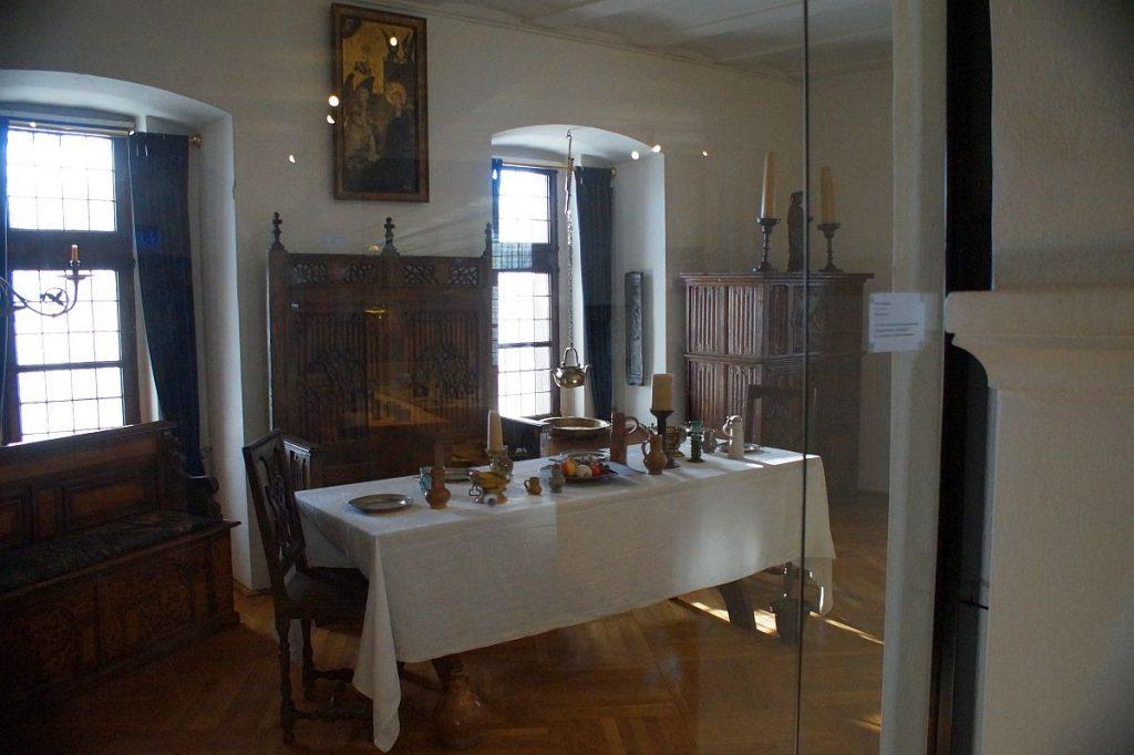 Kaffeetafel Museum Schloss Burg