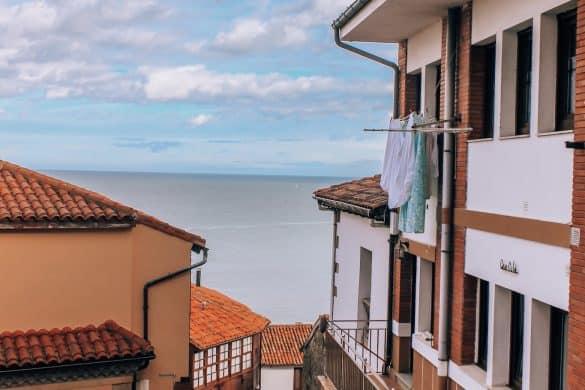Asturias, Nord-Spania, Spania, Lastres, Spanias vakreste landsbyer