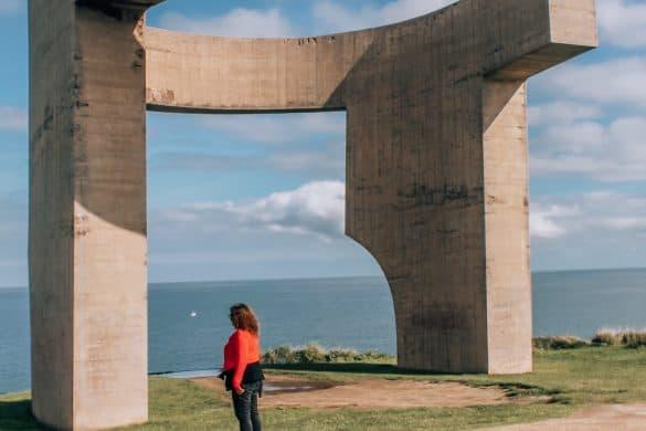 Asturias, Nord-Spania, Spania, gijon, kunst i Gijon