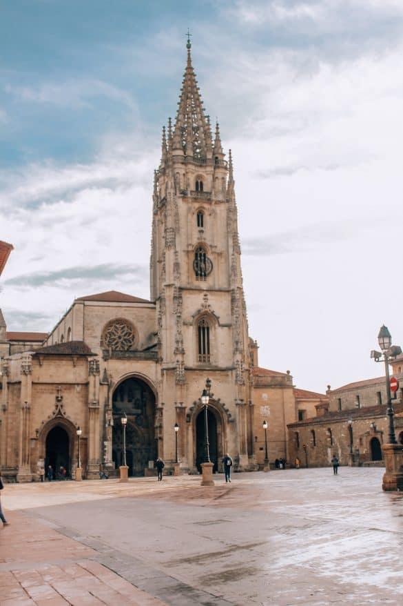 Asturias, Nord-Spania, Spania, Oviedo, Oviedo katedralen