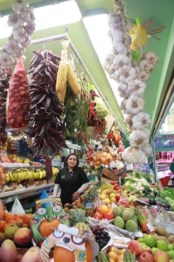 Asturias, Spania, Oviedo, Nord-Spania, gamlebyen Oviedo, matmarked Oviedo