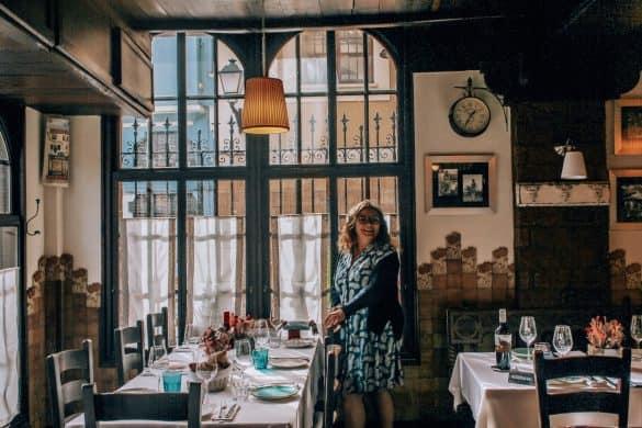 Asturias, Spania,Nord-Spania, Oviedo, spise i Oviedo, restaurant i Oviedo