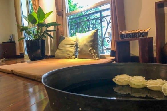 SPA på La Siesta Diamond Hotel Hanoi