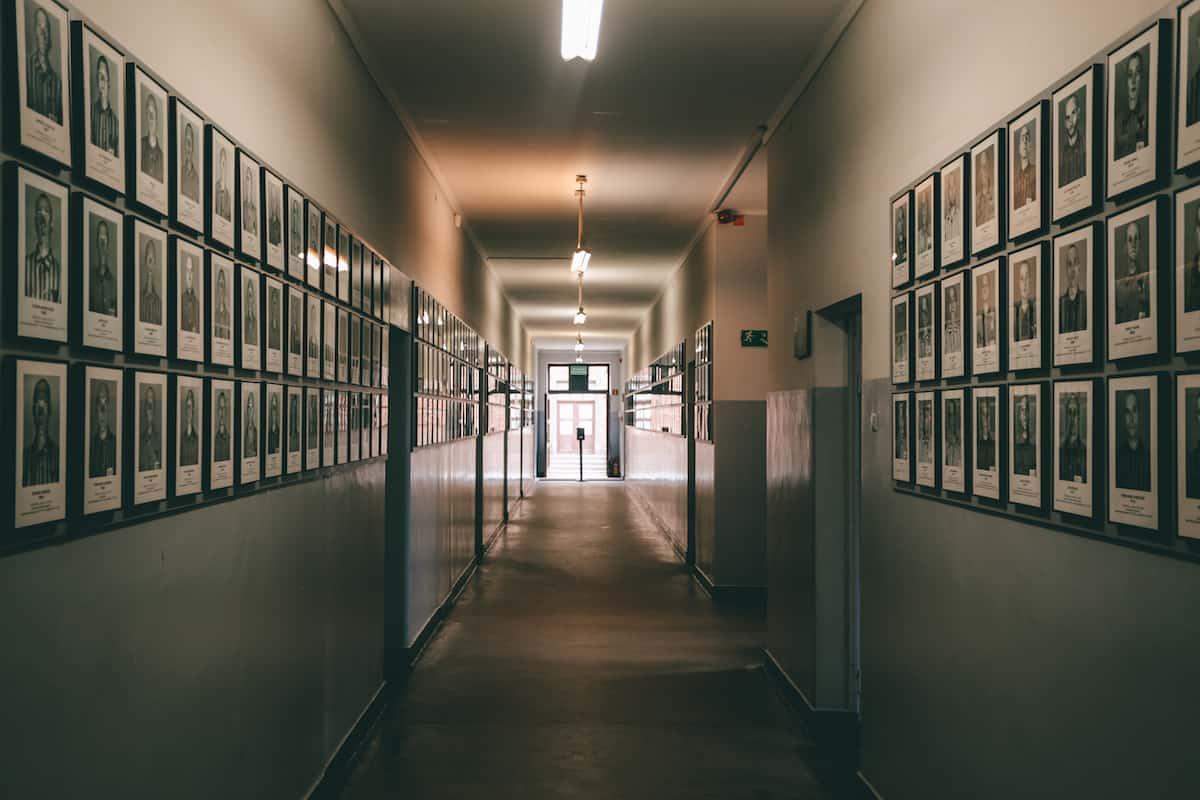 Auschwitz hall